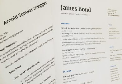 How to make a Canadian style resume?